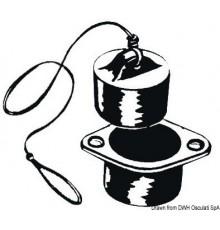 Nable nylon avec valve 36 mm Le lot de 2