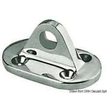Pontet AISI 316 p. fixation draille ?il 10 mm Le lot de 2