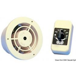Ventilateur électrique réversible ventilation ou aspiration air