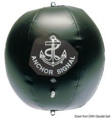 Ballon de mouillage noir gonflable