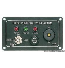 Panneau de commande pompes de cale alarme sonore