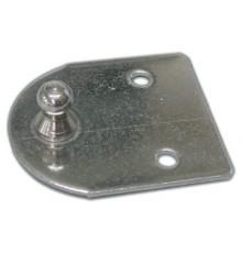 Platine pour amortisseur bille diam 10 mm