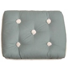 COUSSIN SIMPLE GRIS KAPOK