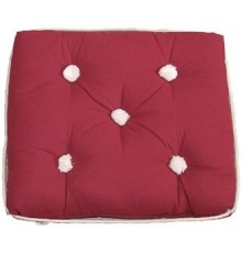 COUSSIN SIMPLE BORDEAUX KAPOK