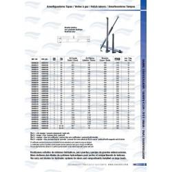 LEVE-PANNEAUX ELECT.DOUBLE 24V 3000/480