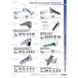 DAVIER ACIER INOX AUTOBLOQUANT 12/14 mm