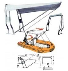 Bimini parasol pour rollbar