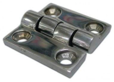 Charnière inox forgée 3 dimensions