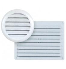Grille de ventilation pvc blanche