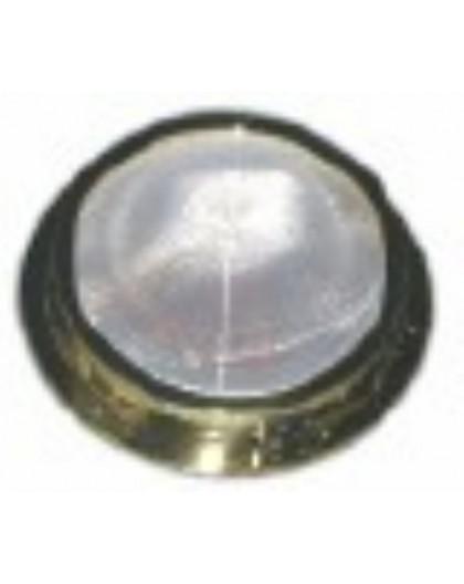 Plafonnier avec interrupteur et ampoule