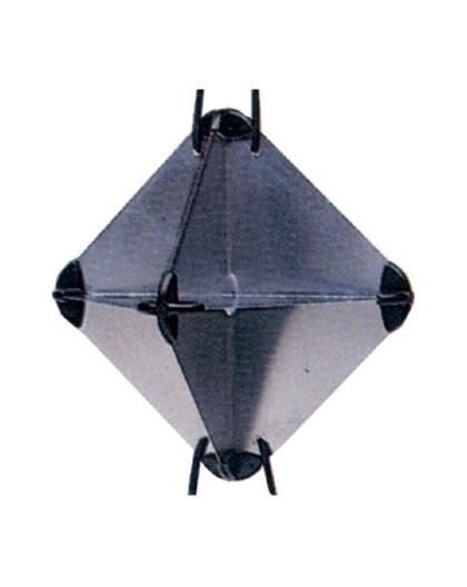 Réflecteur radar en aluminium