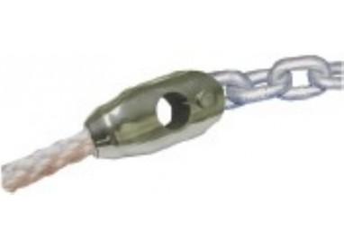 Union chaîne-cordage en inox