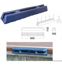 Défense pour pontons/quais en souple EVA moulé par injection remplie à l'intérieur