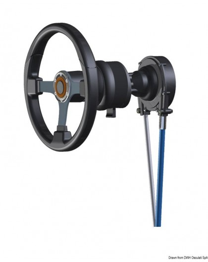 Systèmes de direction rotatifs T101/T103ZT prédisposés pour inclinaison réglable du volant