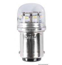 Ampoule à LED SMD culot BA15D pour spots avec protection verre LED