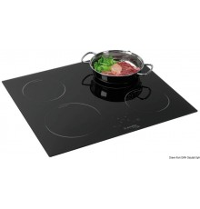 Plan de cuisson vitrocéramique touch control 4 feux