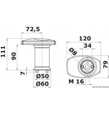 Système modulaire de taquet et chaumard