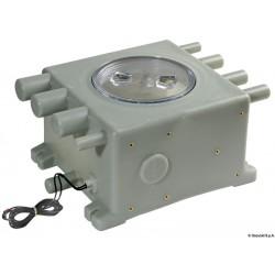 Collecteur eaux usées avec capteur électronique incorporé