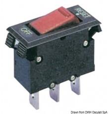 Interrupteur thermique disjoncteur à bascule Le lot de 4