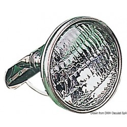Projecteur pour barre de flèche en inox, socle avec bras orientable