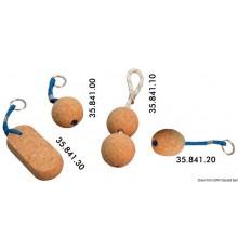 Porte-clés flottants en liège