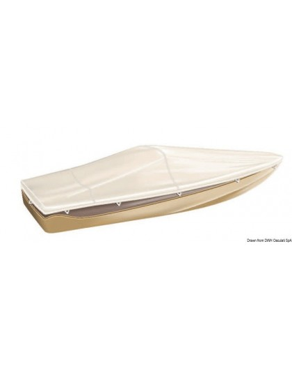 Bâche TESSILMARE pour bateaux avec pare-brise et Day Cruiser