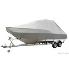 Bâches Jumbo pour embarcations avec cabine de pilotage / T-TOP