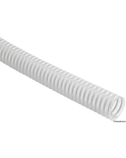 Tuyau en spirale pour sanitaires, pompes, etc.