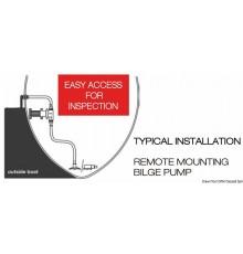Pompe évacuation douche et eaux usées Gulper 320