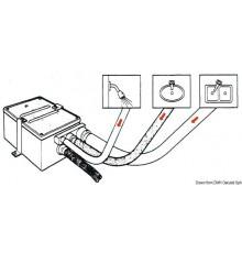 Collecteur eaux usées avec pompe automatique « Attwood »