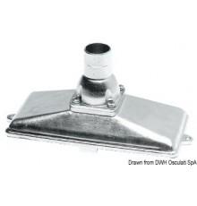 Crépines en inox AISI 316 équipés de clapet anti-retour et grille de filtrage
