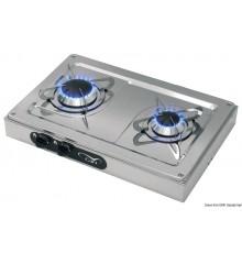 Plaques de cuisson externes en acier inox
