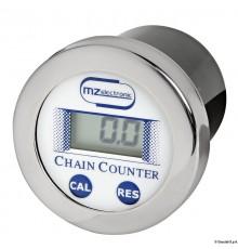 Compteur chaîne 12/24 V - 99,9 m