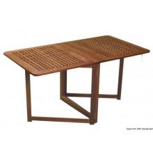 Table pliante avec pieds à compas