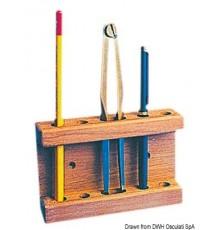Porte-crayon et compas