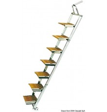 Passerelle/échelle en inox
