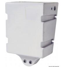 Réservoir en polypropylène blanc pour eau potable de 60 litres, montage à paroi