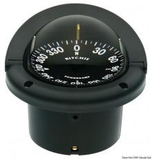 """Compas RITCHIE Helmsman 3"""" 3/4 (94 mm) avec compensateurs et éclairage"""