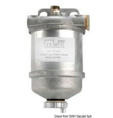 Filtre décanteur pour gasoil en aluminium moulé