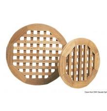 Caillebotis pour douches ou salles de bain, ronds - épaisseur 22 mm