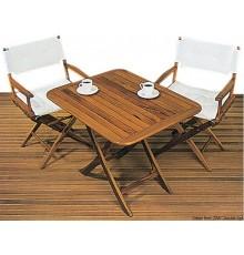 Table pliante en teck véritable