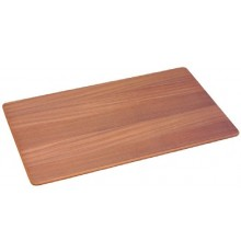 PLATEAU TABLE TECK 41x70cm