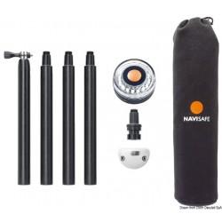 NAVISAFE Kit de fixation + hampe + lumière 360°