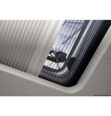 Rideau occultant et moustiquaire plissés OCEANAIR Pleated SkyScreen - installés sur la surface du revêtement interne de la cabin