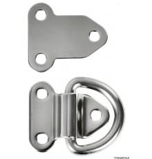 Demi-anneaux rabattables électropolis