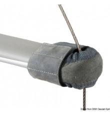 Embouts de barre de flèches en cuir naturel