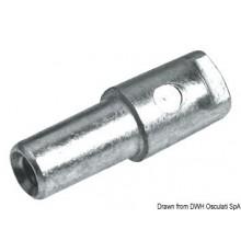 Anode cylindre pour Yamaha 9,9/300 HP Lot de 2