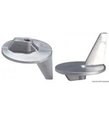 Anode pour pieds avec hélices en acier inox 50/140 HP