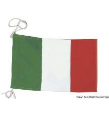 Pavillon de courtoisie italien en polyester Lot de 3