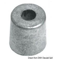 Anode cylindre pour Yamaha 2,5/70 HP Lot de 2